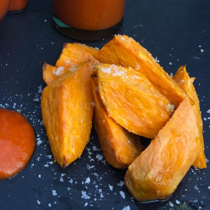 Mangoketchup-mit-Süßkartoffelwedges-2